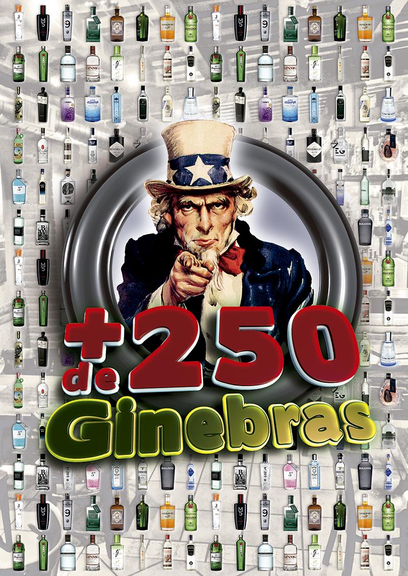 Diseño Cartel Ginebras Las Vegas