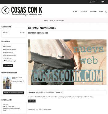 Blog – Cosas Con K
