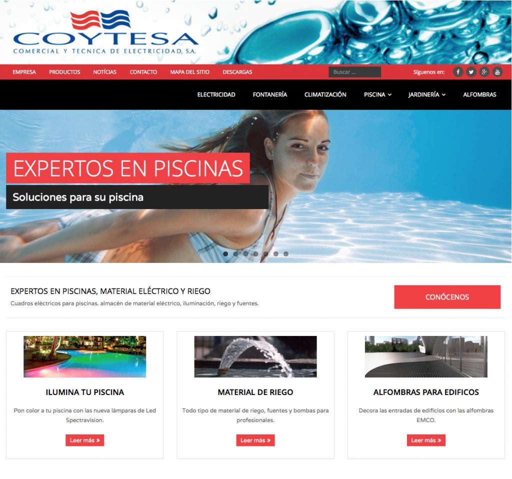 diseño y creación web Coytesa