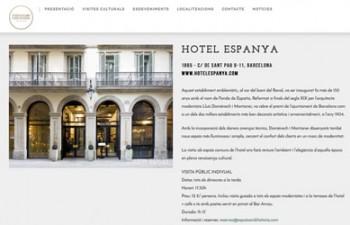 Hotel España Espais amb Història